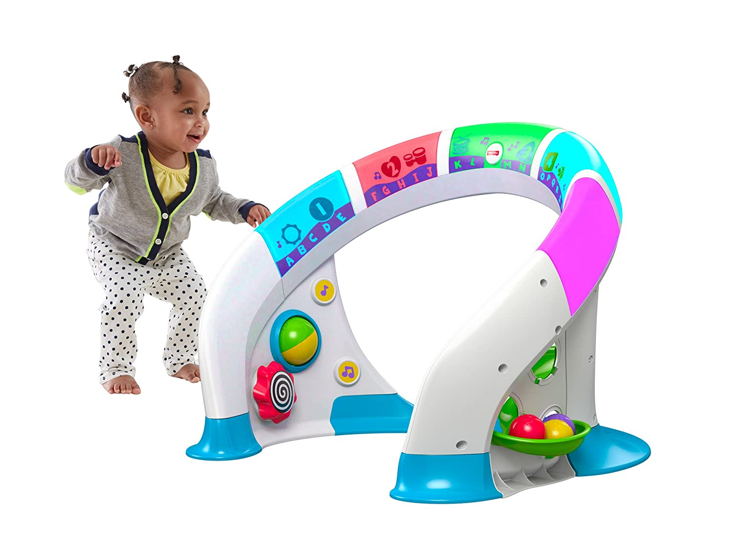 Amazon.com: Fisher-Price Bright Beats Smart Touch Play Space: Toys ...