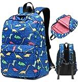 Kids Backpacks Boys Preschool Bookbag Dinosaur for Toddler Nursery Daycare Elementary