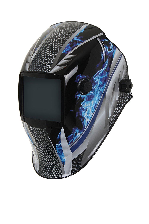 XW Piro azul oscurecimiento automático máscara de soldadura tonos 9-13 + función de molienda