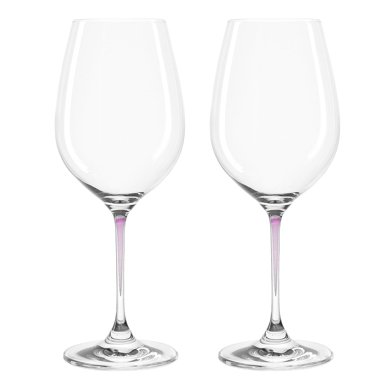 Set de 2 verres à vin Perla, Leonardo - Couleur - Violet 018965