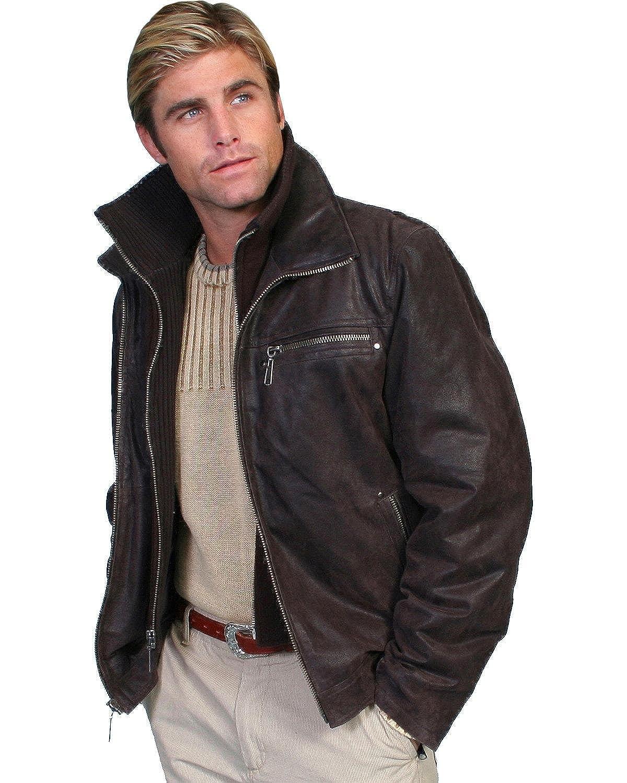 Big leather jackets