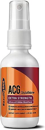 Results RNA ACG Glutathione Extra Strength (Advanced Cellular Glutathione), 2 Ounce