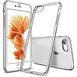 Agedate iPhone 6 ケース iPhone 6s ケース クリア 超薄型 全透明 黄変防止 指紋防止 擦り傷防止 全面保護 TPU シリコン スマホ アイフォン6 カバー (クリア)
