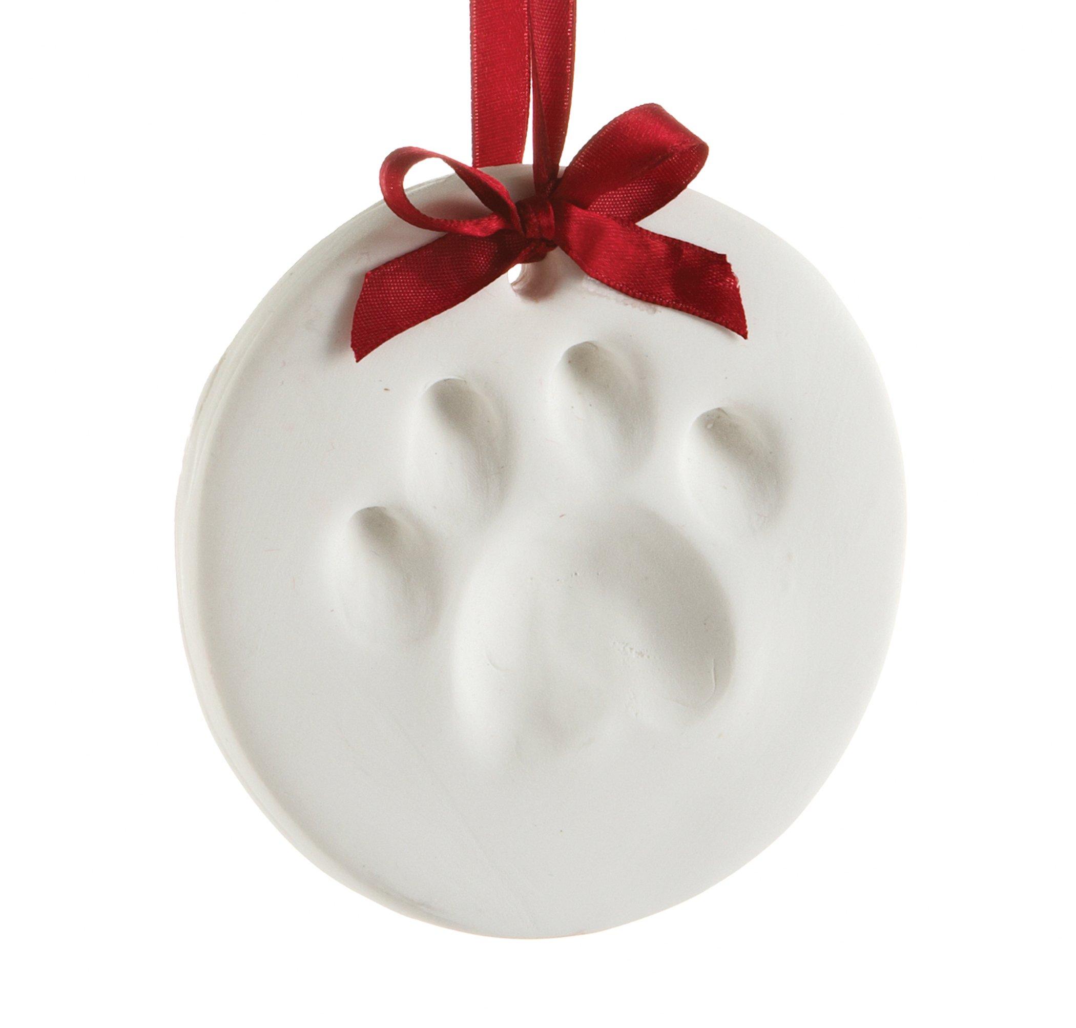 Pearhead Pet Paw Prints Dog or Cat Paw Print Hanging DIY Keepsake, Holiday by Pearhead