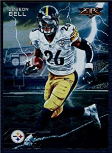 Football NFL 2015 Fire Forces Of Nature #FON-LB Le'Veon Bell NM-MT Steelers