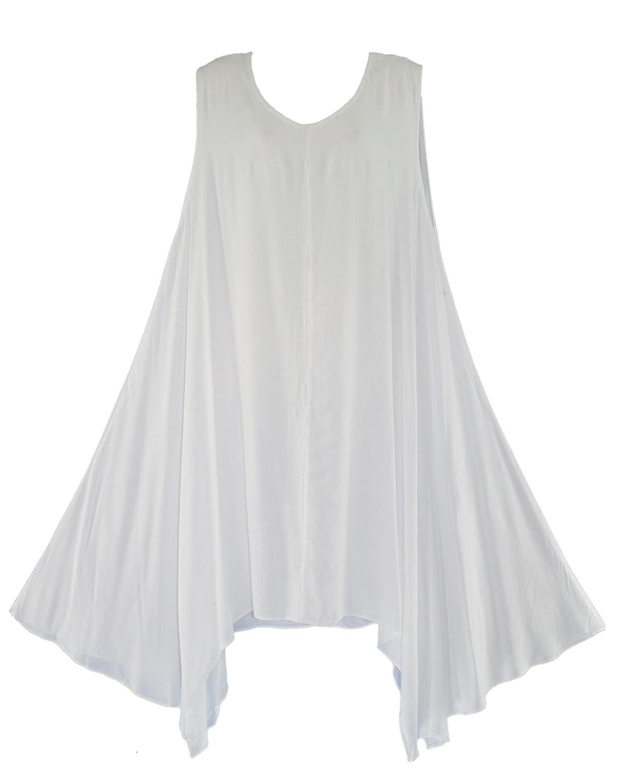 Beautybatik Lagenlook Tunika Top Sommerkleid 42 44