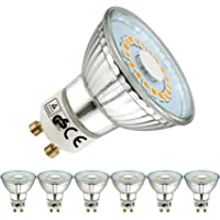 EACLL Bombillas LED GU10 2700K Blanco Cálido 5W