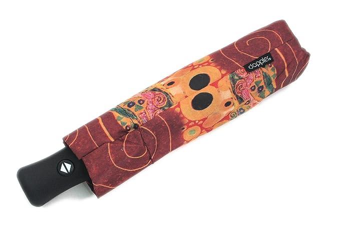 Umbrellaworld Art Collection Hope Klimt Auto diseño de gatos con paraguas plegable: Amazon.es: Ropa y accesorios