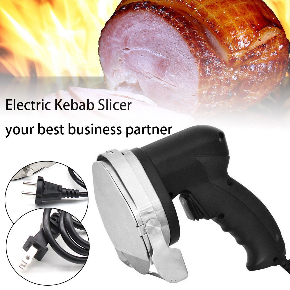 Professional Electric Shawarma Cutter Slicer Knife Gyro Doner Kebab 110V Ship From US by TFCFL (Image #1)