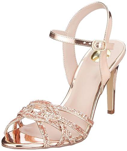 Sandales Metallic Buffalo Bride Afterglow Pu Glitter Femme Cheville htQdrxCs