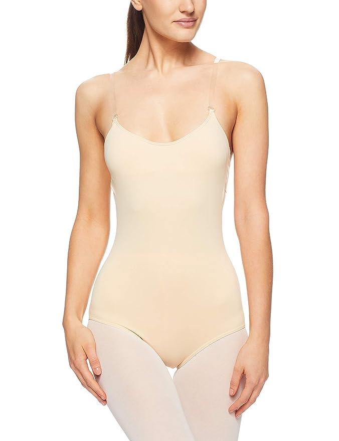 1c4053d45 Amazon.com  Capezio Camisole Leotard w  BraTek  Clothing