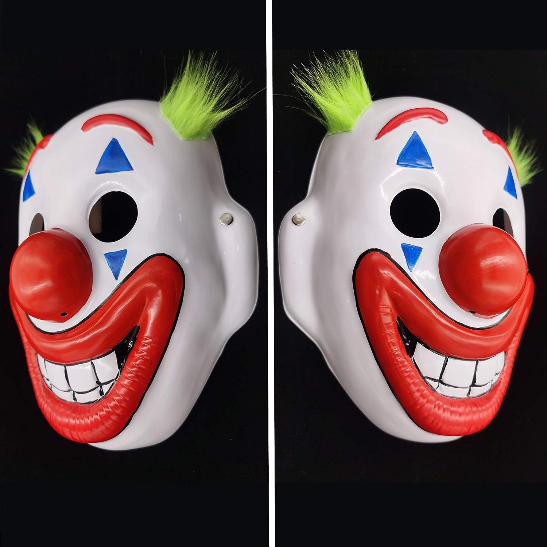 2019 Joker Mask Arthur Fleck Masks Cosplay DC Movie Clown Halloween Costume Mask