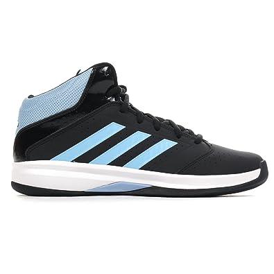 adidas Originals Isolation 2–Chaussures de Baseball en Cuir Homme - Noir - Noir, 40 2/3 EU EU