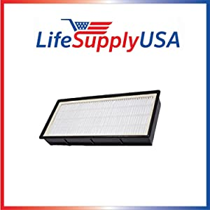 LifeSupplyUSA 2 Pack Replacement HEPA Filter Compatible with N Honeywell Air Purifier Models: HPA-245 Series, HPA-248-TGT, HPA-249 Series, HHT-145 and HHT-149