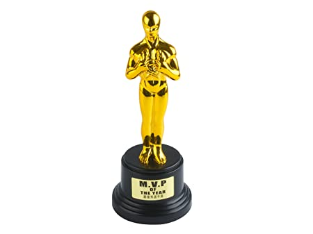 silly award trophy with sticker set amazon co uk kitchen home