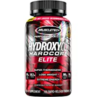 Weight Loss Pills for Women & Men | Hydroxycut Hardcore Elite | Weight Loss Supplement Pills | Energy Pills | Metabolism…