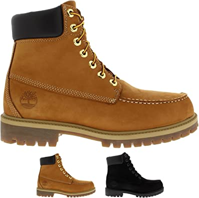 Details about Timberland Ankle 6 Inch Mens Nubuck Brown
