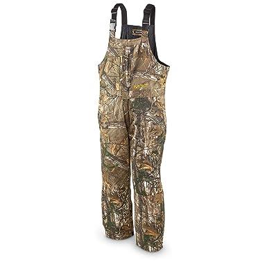 f7cc16c50f29c Amazon.com: Realtree Men's Insulated Bib: Clothing
