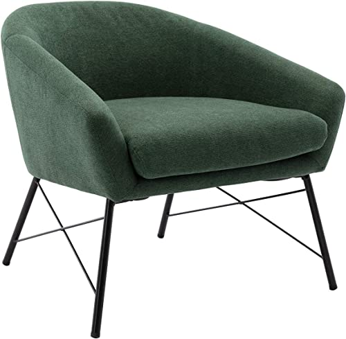 Chairus Mid-Century Accent Chair Fabric Upholstered Lounge Arm Chair