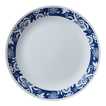 Corelle Livingware True Blue 10.25\u0026quot; Dinner Plate (Set ...  sc 1 st  Amazon.com & Amazon.com | Corelle Livingware True Blue 10.25\
