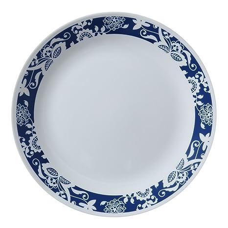 Corelle Livingware True Blue 10.25u0026quot; Dinner Plate ...  sc 1 st  Amazon.com & Amazon.com | Corelle Livingware True Blue 10.25
