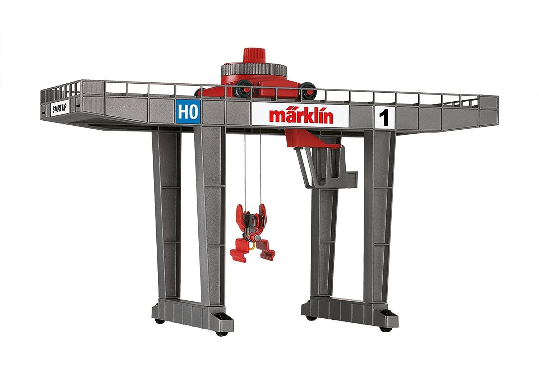 Märklin 72452 - Containerterminal Moderner Brückenkran zur Verladung von Containern, Fahrzeuge  Bild