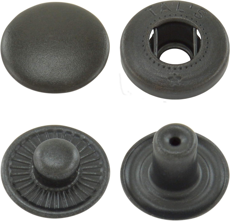 GETMORE Parts 50 pezzi Bottoni a pressione S-Feder in ottone inossidabile