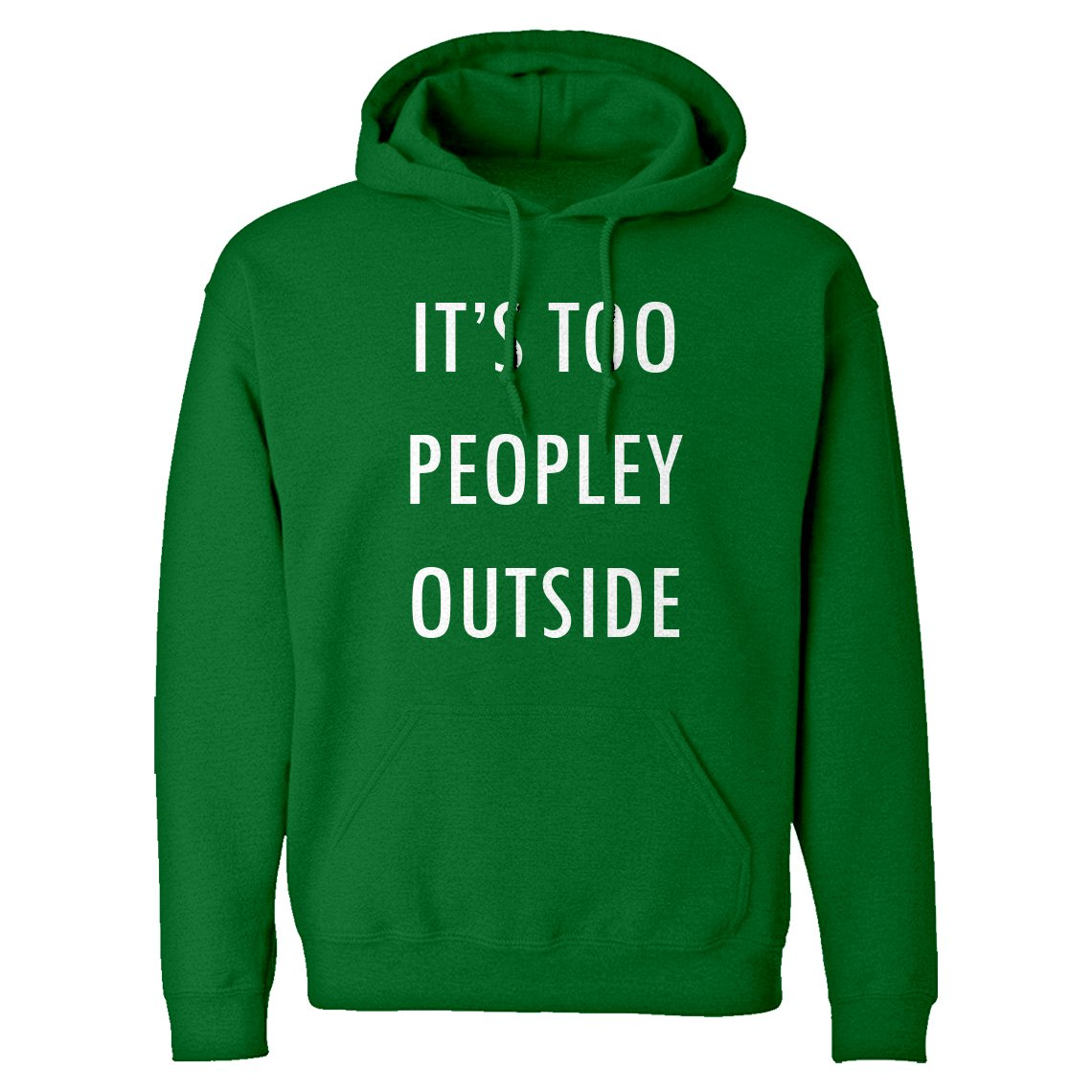 Indica Plateau Too Peopley Outside Adult Hoodie 3603-H