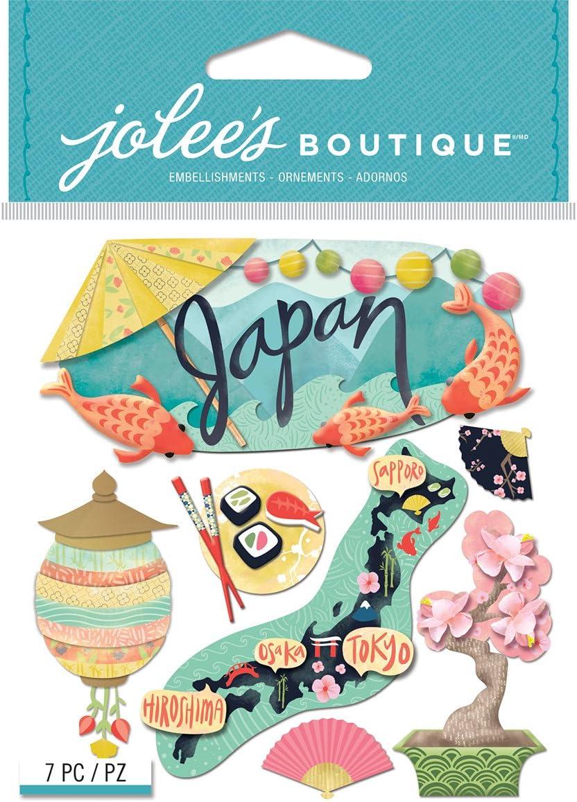 60087 Japan Sightseeing Scrapbook Stickers