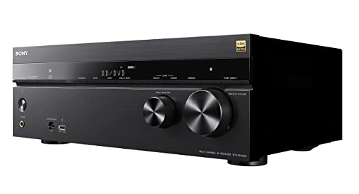 Sony STR-DN1080 - Receptor AV de Cine en casa (7.2.1 Canales, 165 W por Canal, Dolby Atmos, DTS:X, Bluetooth, NFC, Wi-fi, Airplay, Chromecast, ...