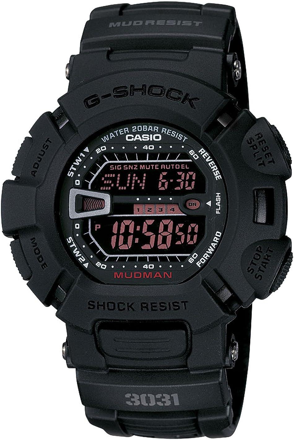 Casio G-Shock G9000MS-1CR Men's Military Black Resin Sport Watch
