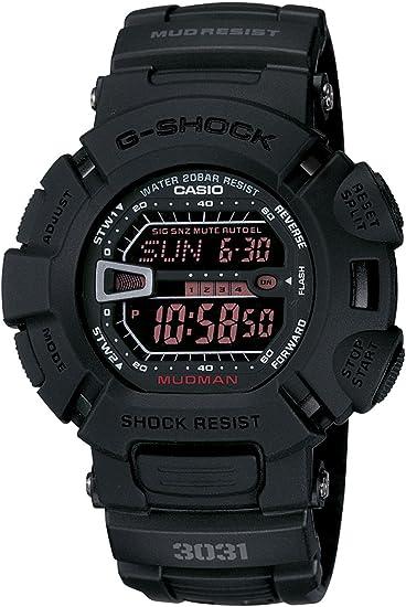 カシオ CASIO Gショック G-SHOCK メン イン ラスティブラック 腕時計 G9000MS-1