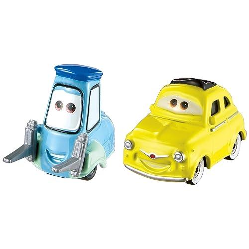 Cars Disney 3-Vehicule Luigi & Guido, FJH93