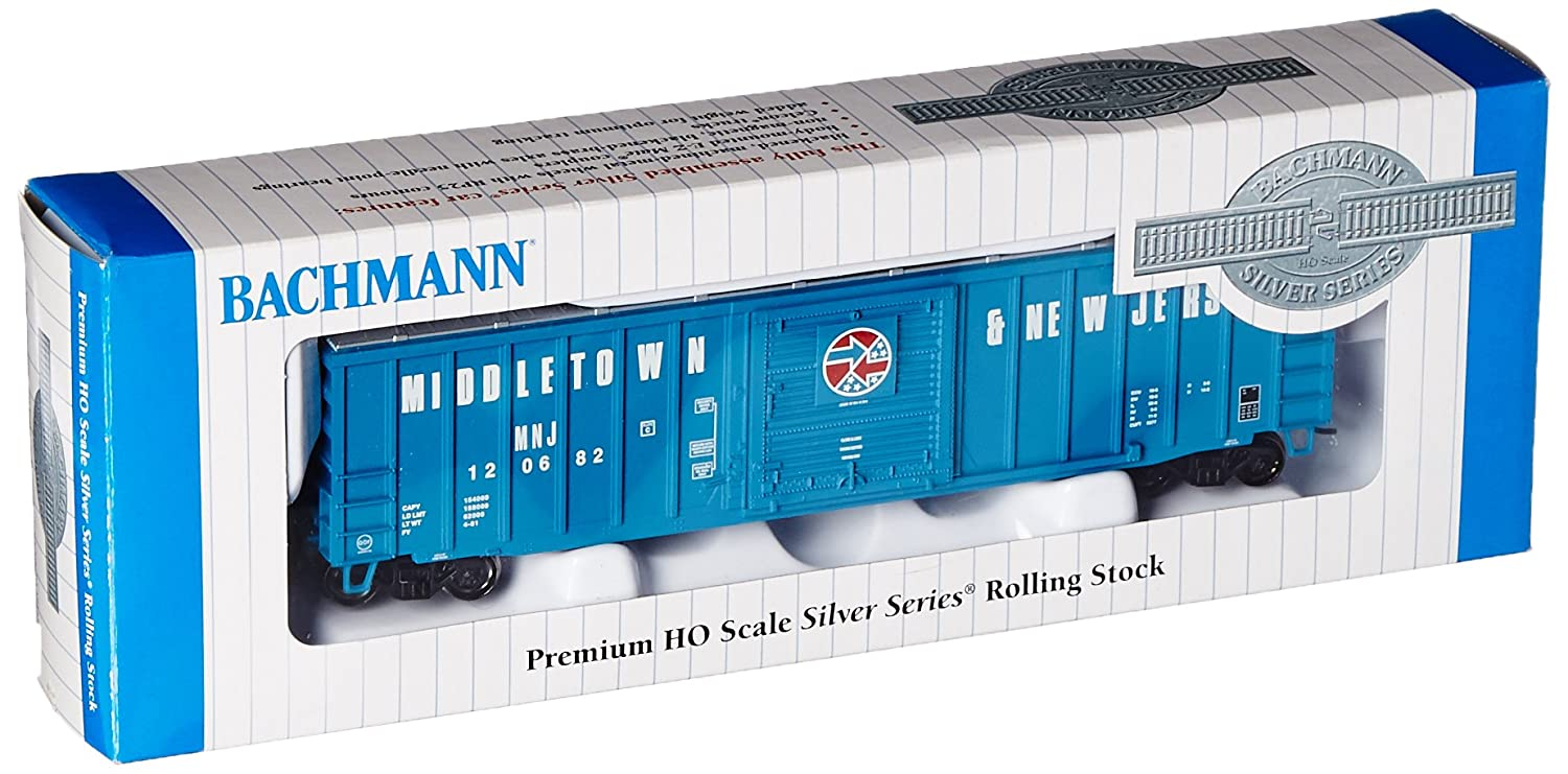 HO Scale Middletown and New Jersey ACF 50-6 Outside Braced Sliding Door Box Car