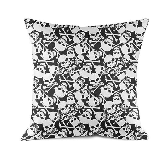 Custom Throw Pillows Here Funda de Almohada Cuadrada ...