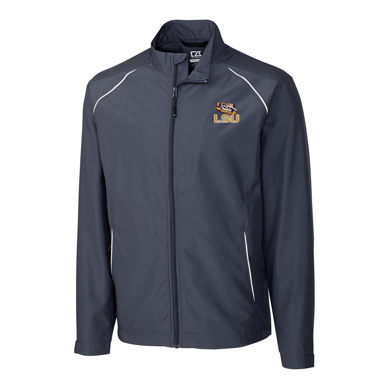 NCAA Illinois Illini Adult Men CB Weathertec Beacon Full Zip Jacket Navy Blue Large
