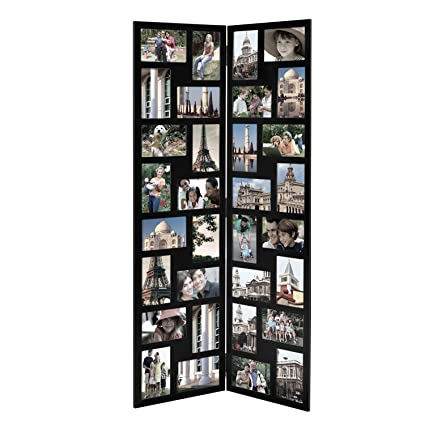 Amazon.com - Asense Decorative 32 Openings 4 By 6 Inch Black Wood ...