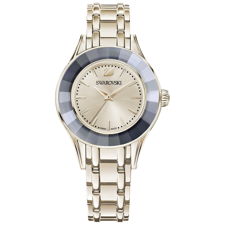 5dca4cac5c907d Swarovski Alegria Watch - Metal Bracelet Champagne Gold Tone 5368924   Amazon.in  Watches