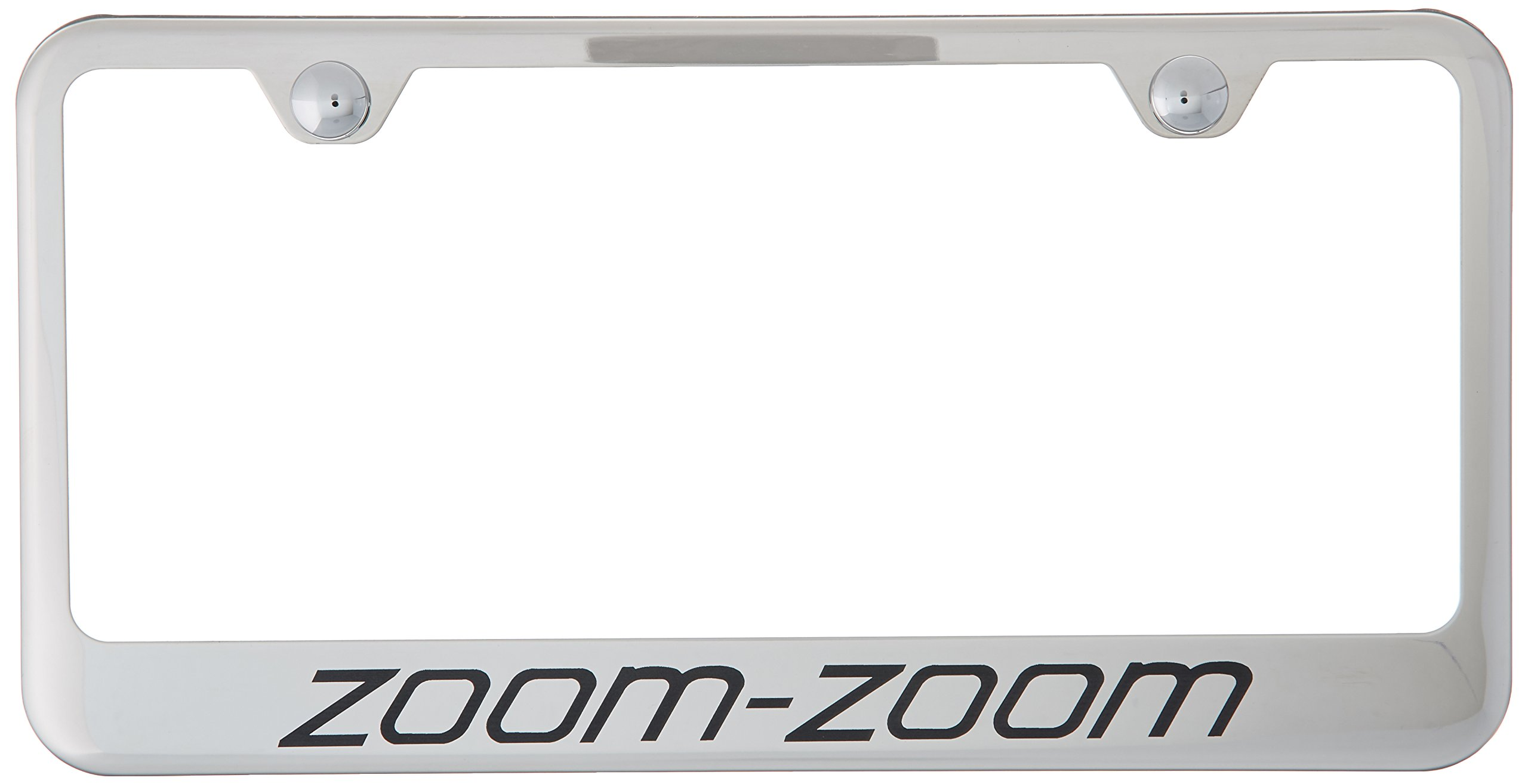 Amazon.com: Mazda Zoom-Zoom License Plate Frame: Automotive
