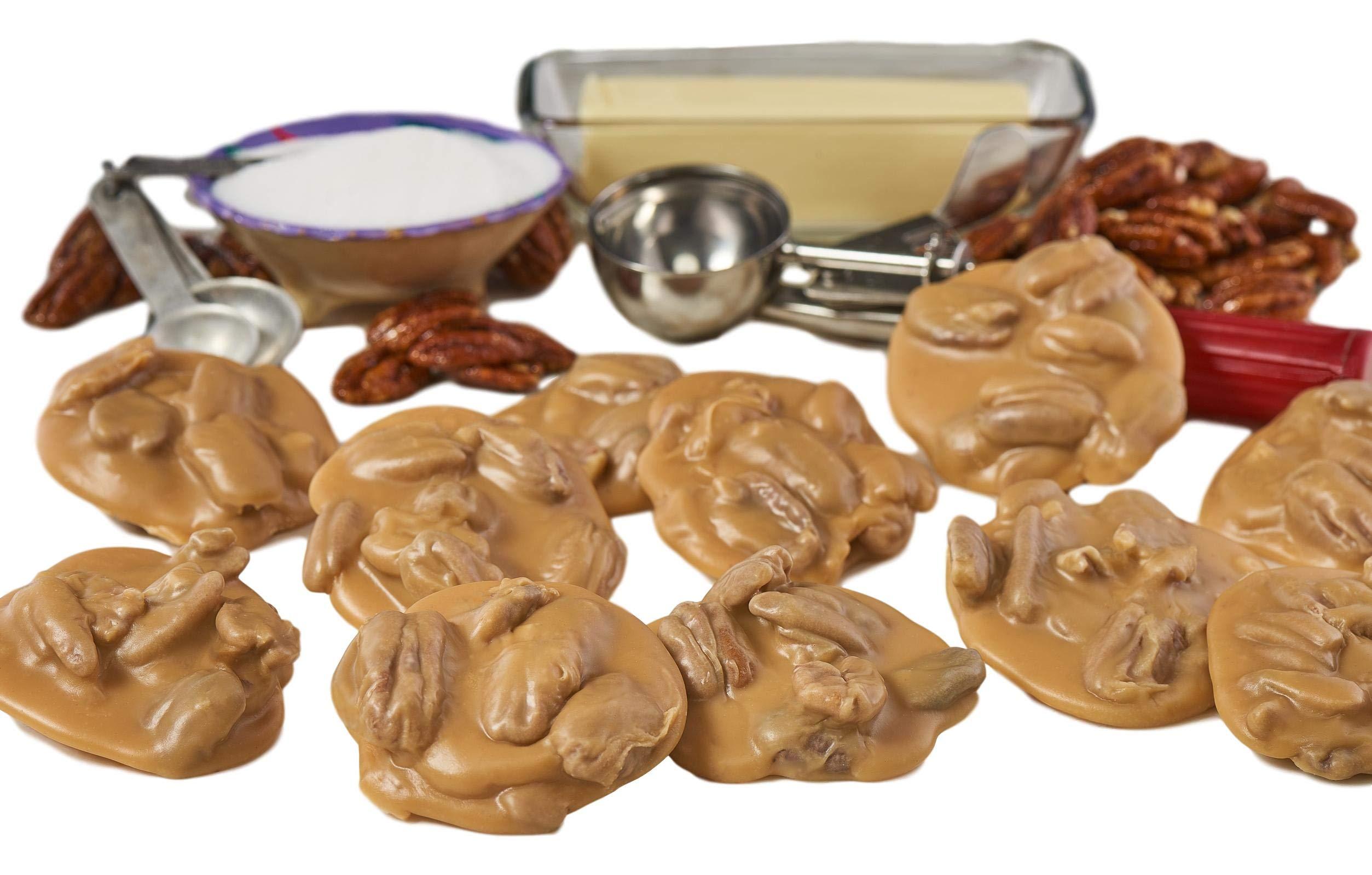 Hot & Fresh Pecan Pralines | Savannah's Candy Kitchen - Includes Praline Baking Mat