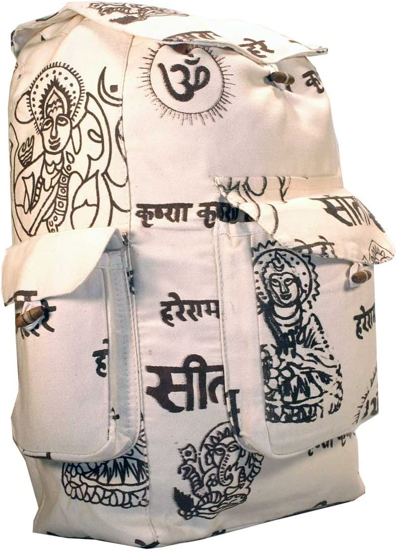 Nepelase Mantra Hippie Backpack