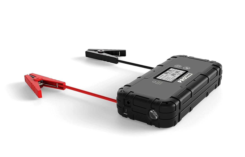 PRO USER 20145/SC800/A Super Capacitor Jump Starter 12/V 800/A Booster 250/x 120/x 50/mm Black