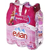Evian Botellas de Agua Mineral sin Gas (6 Unidades de 500ML)