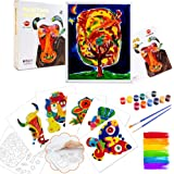 VATOS Paint Set for Kids, Arts Set for Kids Includes Photo Fram, DIY Painting Kit for Boys and Girls, Educational Collage Sti