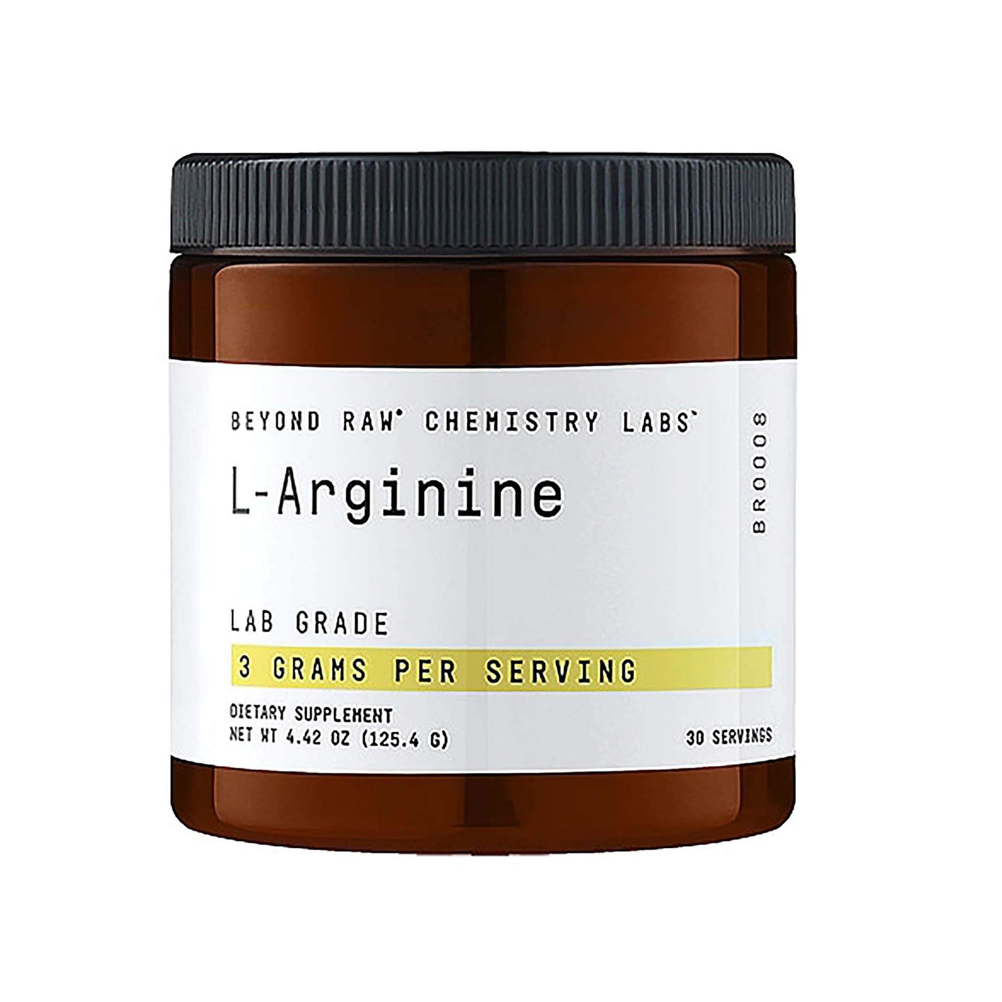 Beyond Raw Chemistry Labs L-Arginine, 30 Servings by BEYOND RAW