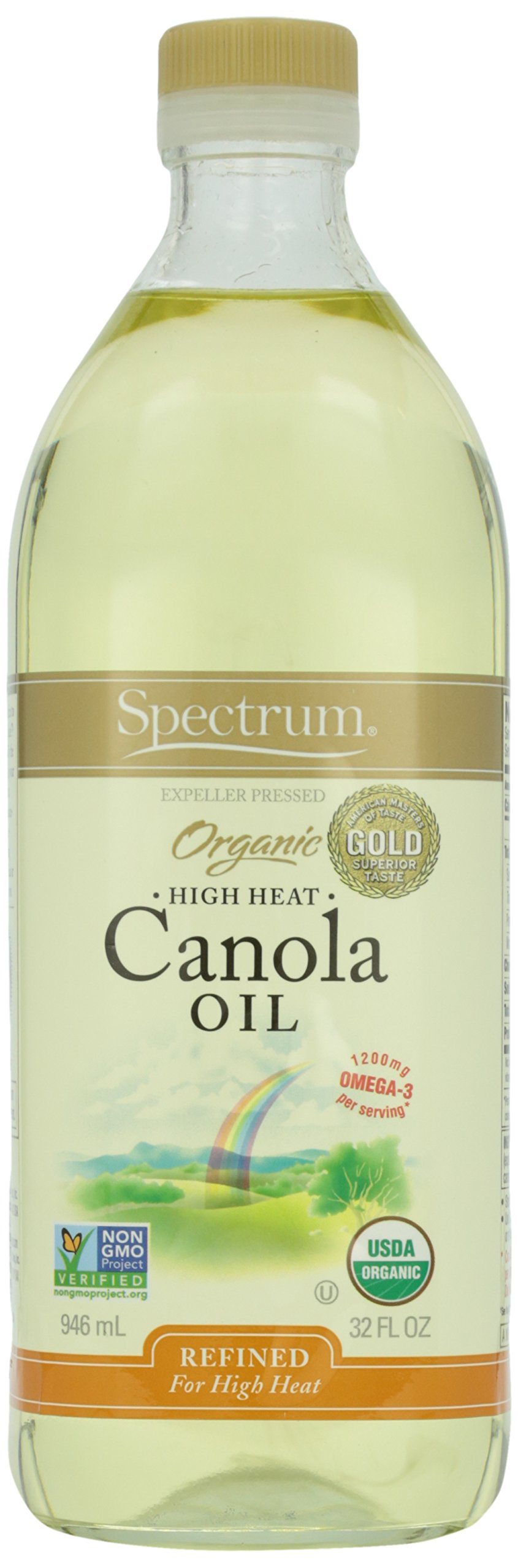 Spectrum Organic Canola Oil, 32 oz