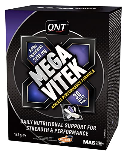 QNT Mega Vitek, Sabor Standard - 30 Unidades