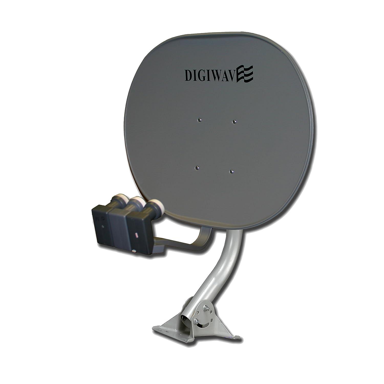 Digiwave 33-Inch Elliptical Satellite Dish DWD80E2SMT