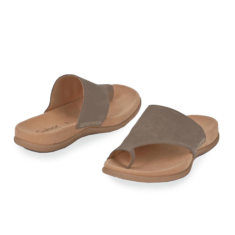 Gabor Schuhes 6370013 Taupe Damen Clogs & Pantoletten Taupe 6370013 a45cc7