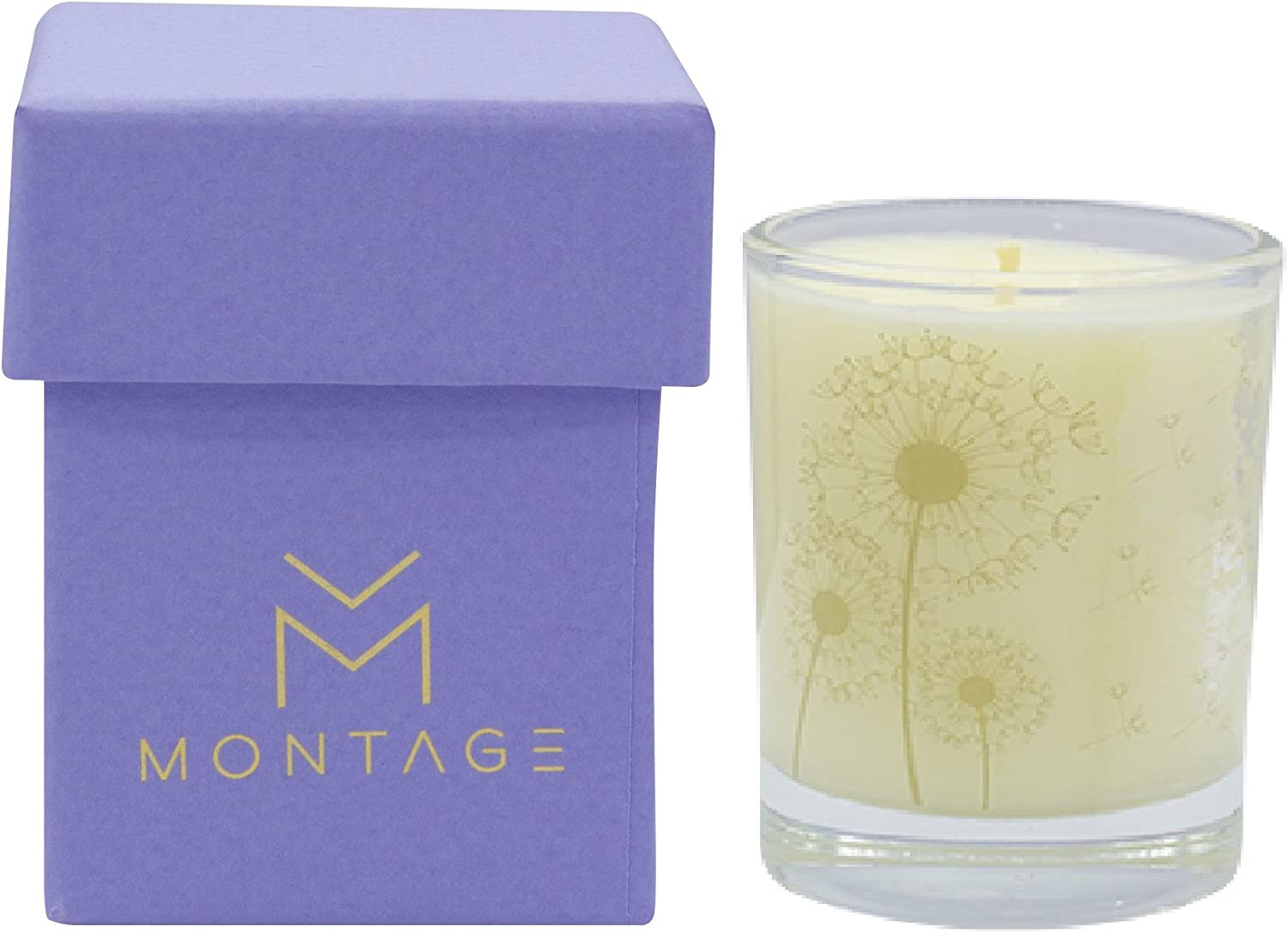 Calming Lily Cannabis Coconut Wax Votive Candle